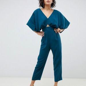 Jumpsuit with Kimono Sleeves